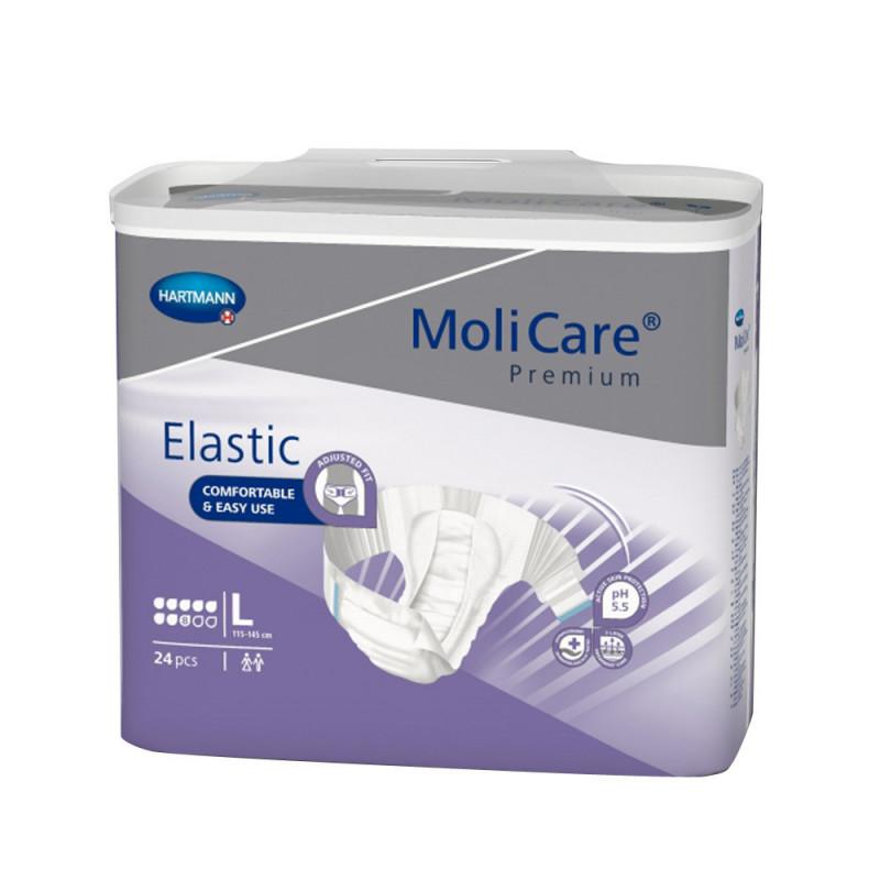 MoliCare Premium Elastic 8 Gouttes - Taille L pas cher